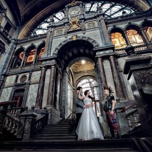 Sedinta foto nunta la biserica in Belgia | Fotograf nunta Sorin Careba
