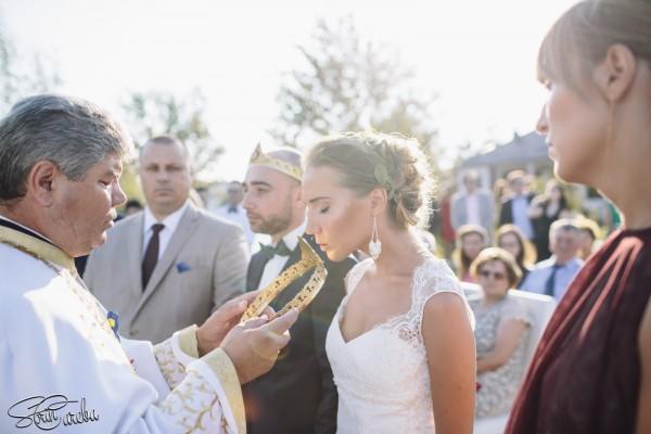 Cununie religioasa afara | Fotograf nunta Sorin Careba