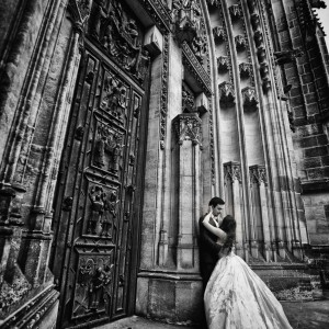 Sedinta foto trash the dress in Praga | Fotograf nunta Sorin Careba