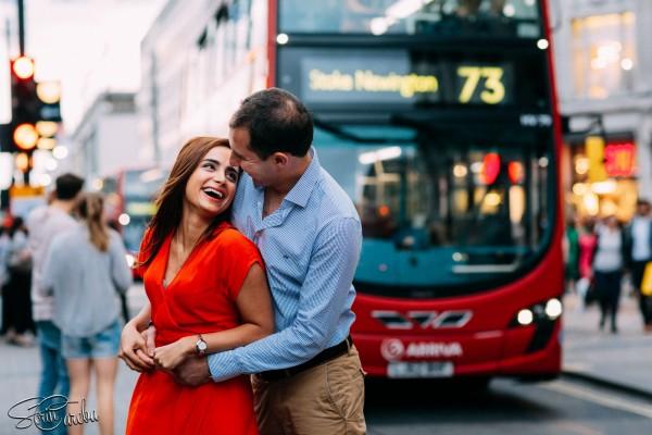 Sedinta foto de logodna in Londra | Fotograf de nunti Sorin Careba
