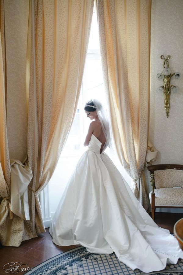 rochie de mireasa - nunta in Bucuresti | Fotograf nunta Sorin Careba